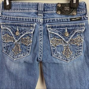 Miss Me Embellished Boot Cut Jeans 26